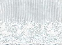 rabatowy koronkowy biel Zdjęcia Royalty Free