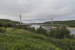 Rabatowy most Obrazy Royalty Free