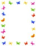 rabatowy motyl Obraz Stock