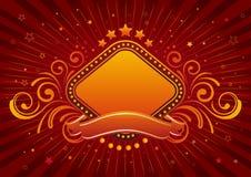 rabatowy neonowy znak Obraz Royalty Free