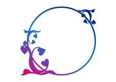 rabatowy okrąg Obraz Royalty Free