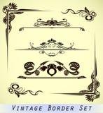 rabatowy ornamentacyjny rocznik Fotografia Royalty Free