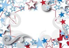 rabatowy patriotyczny Zdjęcie Royalty Free