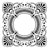 rabatowy projekta elementu ornamental Fotografia Stock