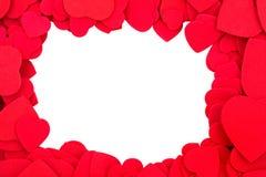 rabatowy serce Fotografia Stock