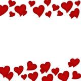 rabatowy serce Zdjęcia Royalty Free