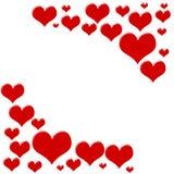 rabatowy serce Zdjęcie Stock