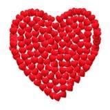 rabatowy serce Zdjęcia Stock