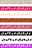 rabatowych pączków różany szablon Obraz Stock
