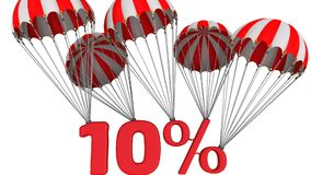 Rabatt av tio procentsats