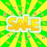 Rabatt på försäljning Arkivbilder