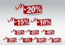 Rabatt-Preise Lizenzfreie Stockfotos