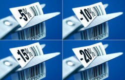 Rabatt-Preise Lizenzfreie Stockfotografie