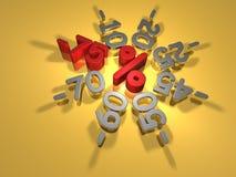 Rabatte -75 Prozent Lizenzfreies Stockbild
