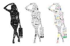 Rabatteinkaufenfrauen Lizenzfreies Stockfoto
