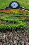 Rabatter med den stora dekorativa klockan Royaltyfria Bilder