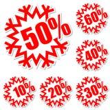 Rabattkennsätze Vektor Abbildung