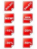 Rabattmarken Lizenzfreie Stockfotos