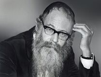 Rabbi Adin Steinsaltz in Jerusalem in 1988