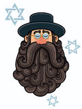 Rabbi Portrait Stock Image