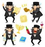 Rabbini del fumetto Fotografia Stock Libera da Diritti