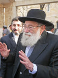 Rabbinical lider Zdjęcie Royalty Free