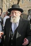 Rabbinischer Führer Stockfotos