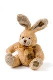 Rabbit. Sitting rabbit toy romatic gift Stock Photos