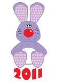 Rabbit. Funny rabbit (symbol of new year Stock Image