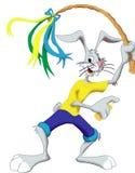 Rabbit. A rabbit in yellow t-shirt Stock Image