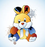 Rabbit. Vector soft toys hare, rabbit Royalty Free Stock Image