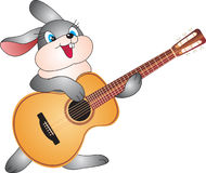 Rabbit. Illustration, isolated on a white background Royalty Free Stock Image