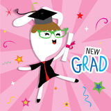 Rabbit Animal Congratulation New Graduate Cute Cartoon Vector Stock Photos