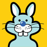 Rabbit avatar Royalty Free Stock Images