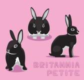 Rabbit Britannia Petite Cartoon Vector Illustration Stock Photography