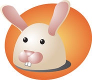 Rabbit cartoon Stock Image