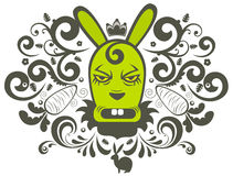 Rabbit character Royalty Free Stock Photography