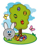 Rabbit. vector illustration