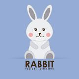 Rabbit cute Royalty Free Stock Image