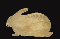 Rabbit Cutting Board Royalty Free Stock Photography