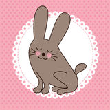 Rabbit design Royalty Free Stock Image