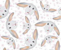 RABBIT FACE DESIGN. Can be used by many companies Royalty Free Stock Image
