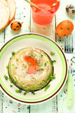 Rabbit galantine aspic for Easter Royalty Free Stock Photo