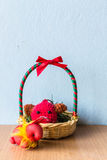 Rabbit and gift Royalty Free Stock Photo