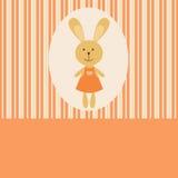 Rabbit girl Stock Photo