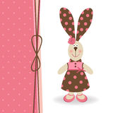 Rabbit girl Stock Images