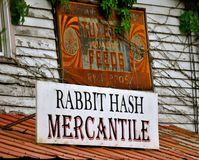 Rabbit Hash Mercantile Stock Images