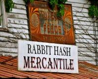 Rabbit Hash Mercantile stock images