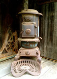Rabbit Hash Wood Stove Royalty Free Stock Images