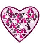 Rabbit heart Royalty Free Stock Photos